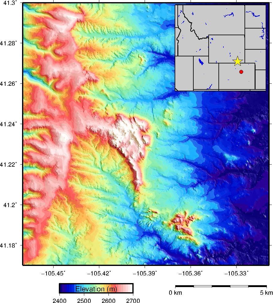 Making a Hill-shade Elevation Map | Brady Flinchum