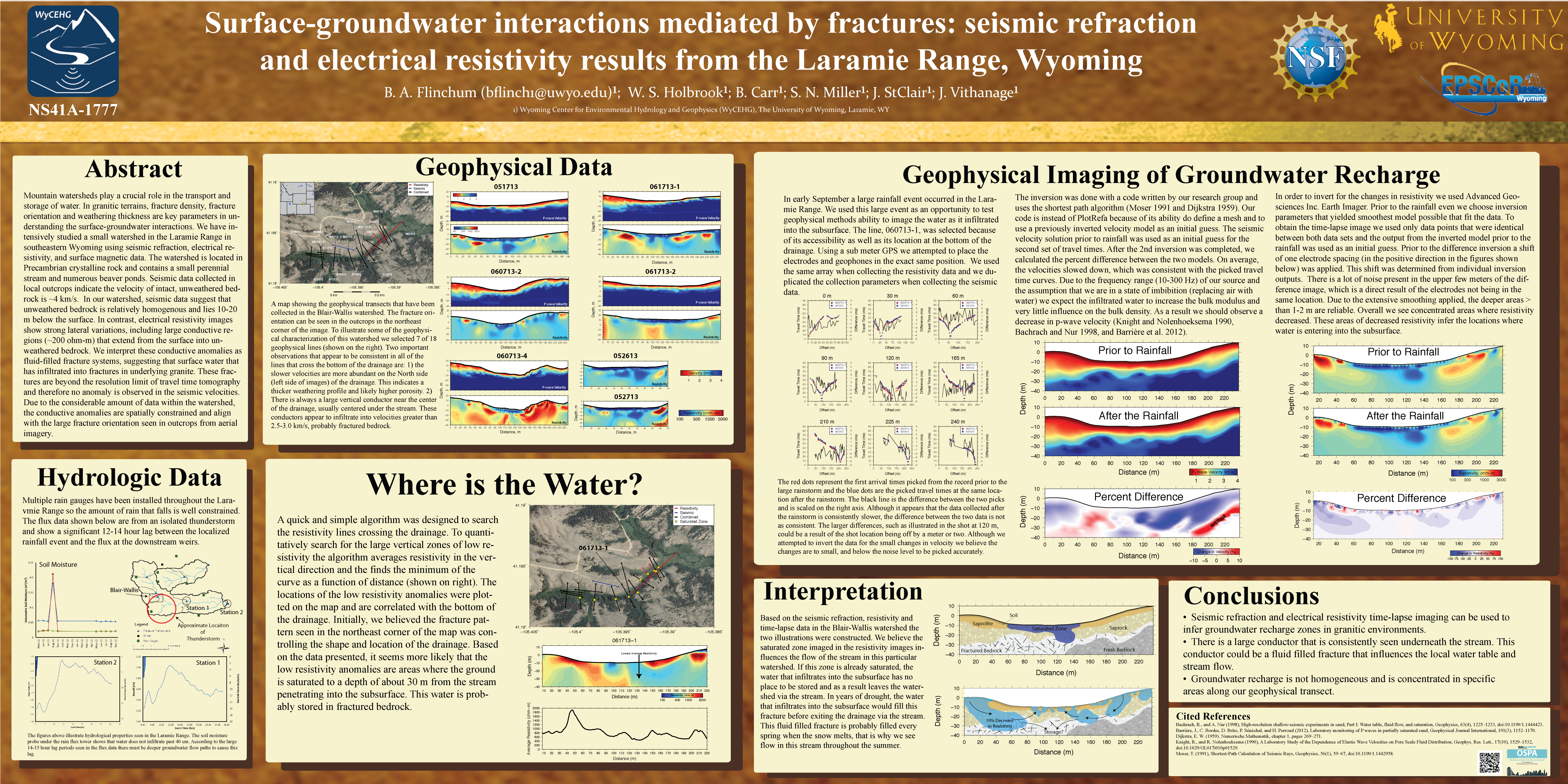 abstract on application of geophysics in Symposium on the application of geophysics to engineering pages for details on abstract the association of geohazard professionals.